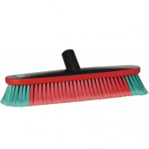 Vikan 475752 Vehicle Brush, waterfed, 370 mm