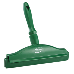 Vikan 7711 Hygienic Hand Squeegee with replacement cassette, 250 mm in 5 Colours