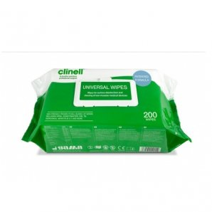 CW200 Clinell Universal Wipes (Case of 6)