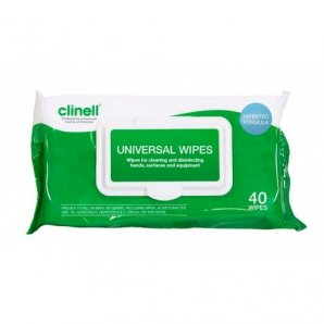 CW40 Clinell Universal Wipes (Single)
