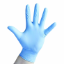 Blue Nitrile Powder Free Disposable Gloves (x 100)