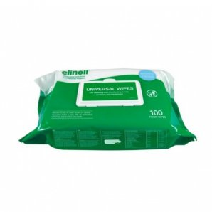 BCW100 Clinell (Single) Universal Thick Wipes