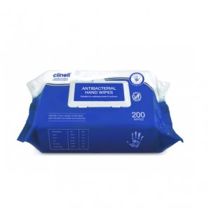 CAHW200 Clinell Antibacterial Hand Wipes 200