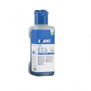 Evans EC6 All Purpose Hard Surface Cleaner 1 Litre