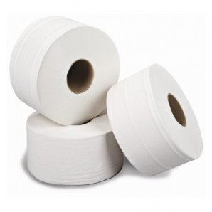 JT81SW Essentials White Versatwin Toilet Tissue 125m